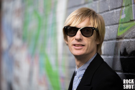 Crispian Mills, Singer, Guitarist and Songwriter with Kula Shaker.
