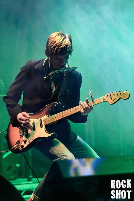 Kula Shaker performing at The Roundhouse Camden on 17 February 2016